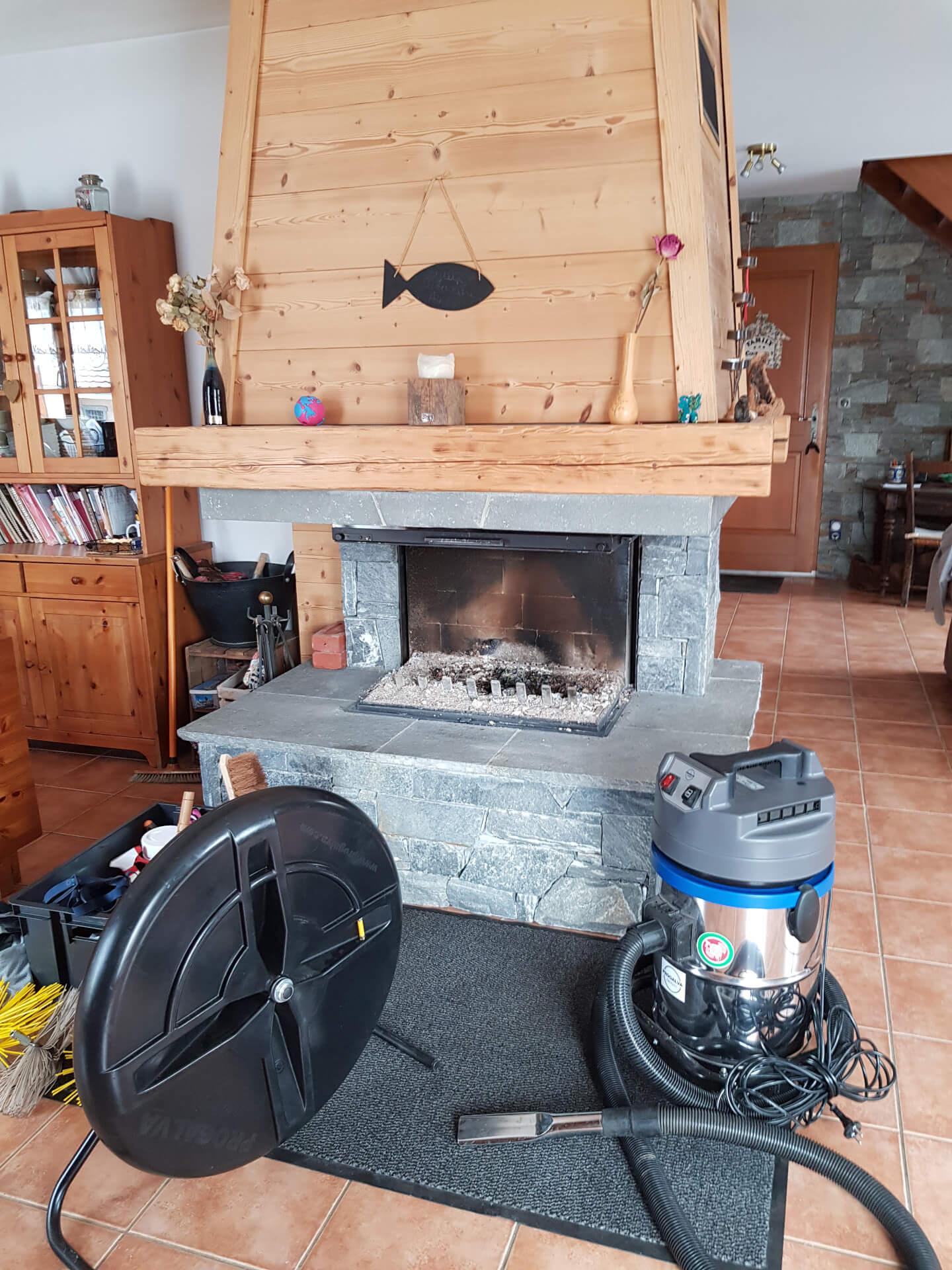 Ramonage de cheminée Haute-Savoie